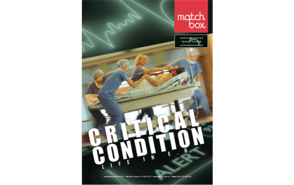 <p>Critical Condition</p><p>Life in E.D.</p>